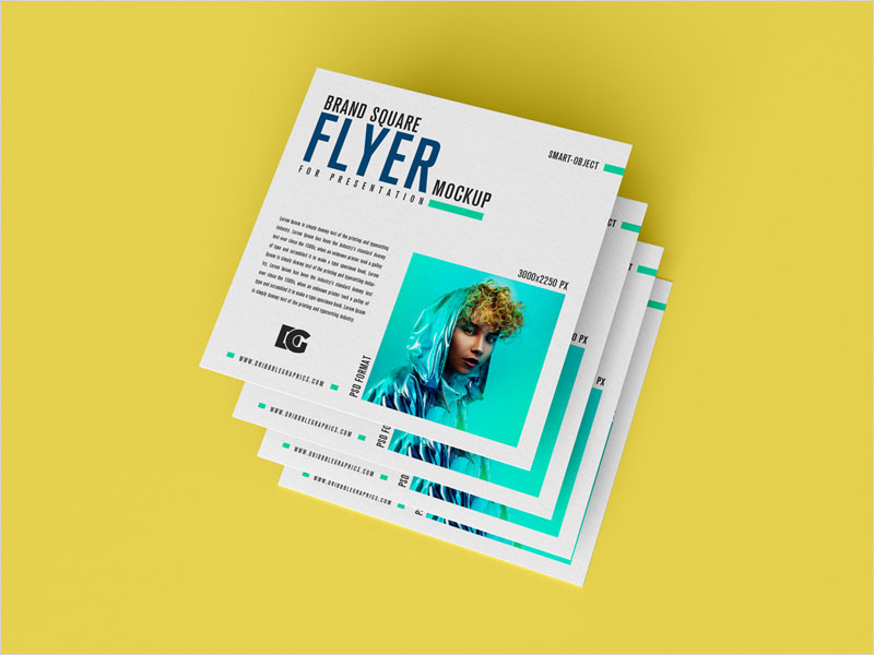 Free-Brand-Square-Flyer-Mockup