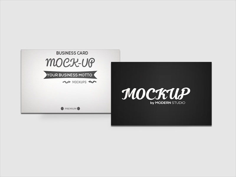 Free-Business-Card-Mockup-Pack