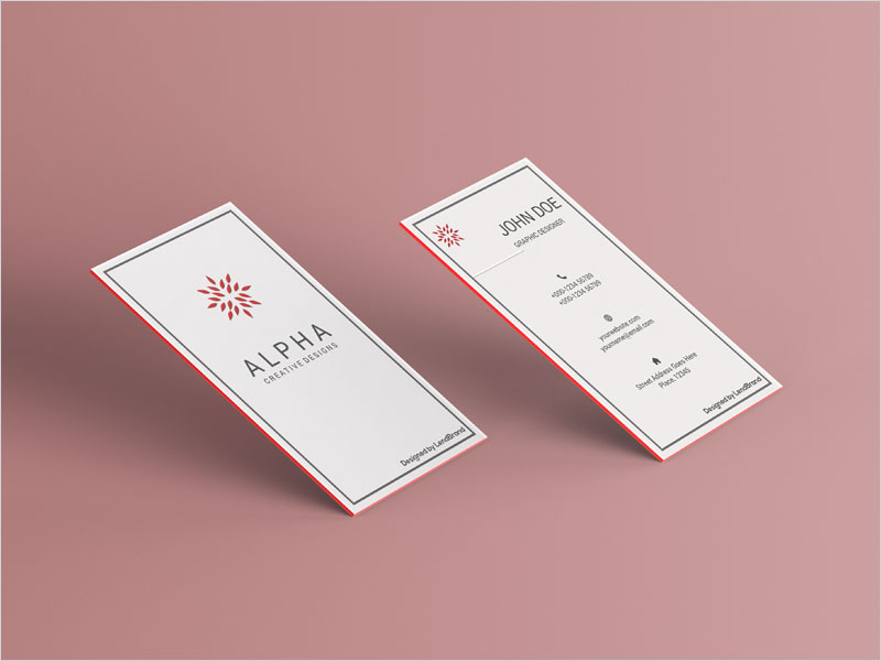 Free-Business-Card-Mockup-Vol-4