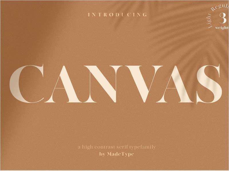 Free-Canvas-Font