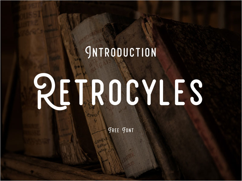 Free-Font---RETROCYCLES