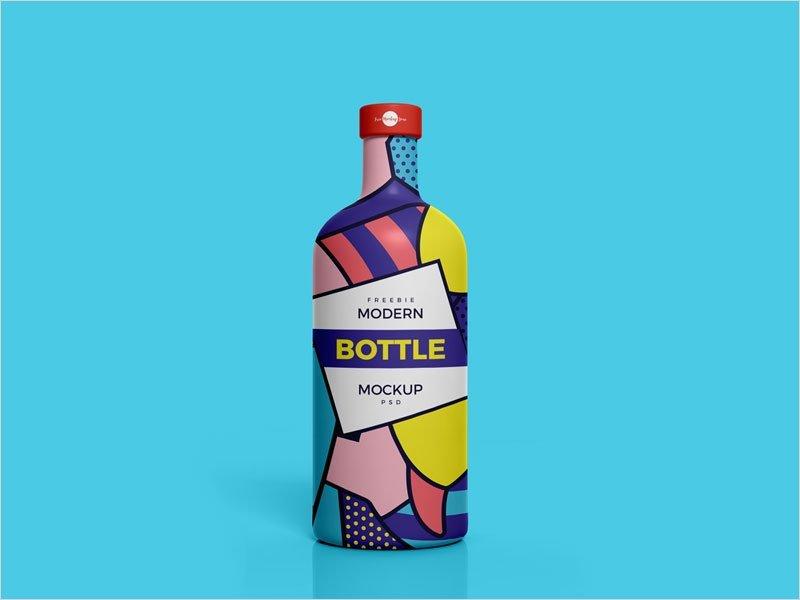 Free-Modern-Brand-Bottle-Mockup-Psd