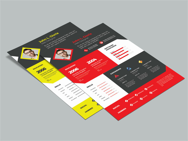 Free-Multicolor-Resume-Template