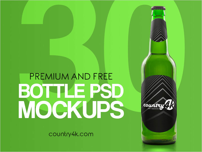 Free-Photo-Realistic-Bottle-PSD-MockUp