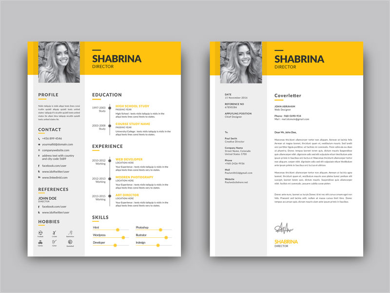 Free-Resume-Template-+-Cover-Letter