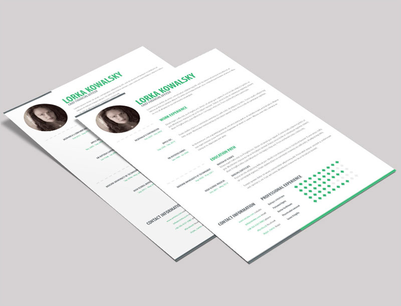 Free-Simple-Creative-Resume-Template