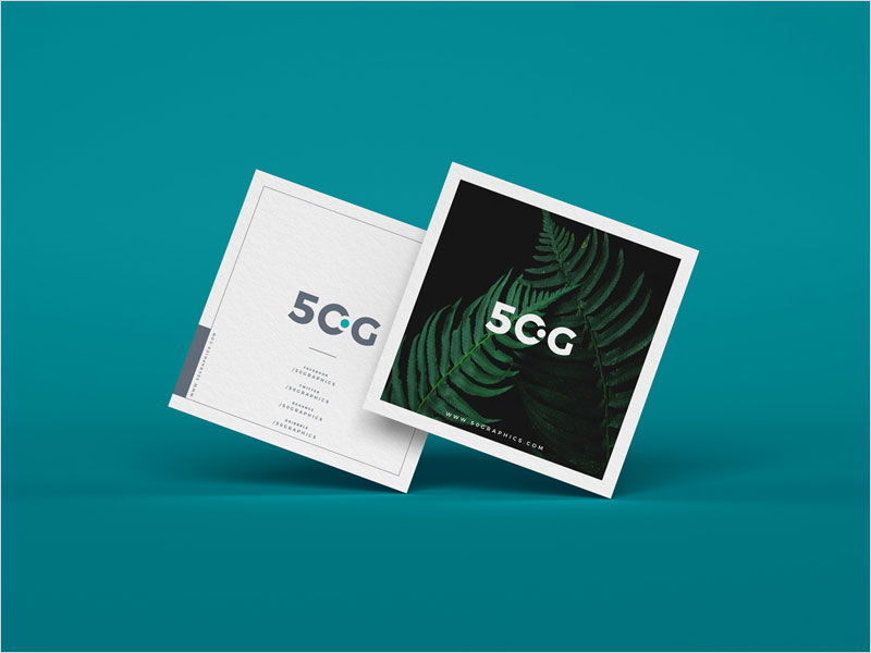 Square-Business-Cards-Mockup-Free