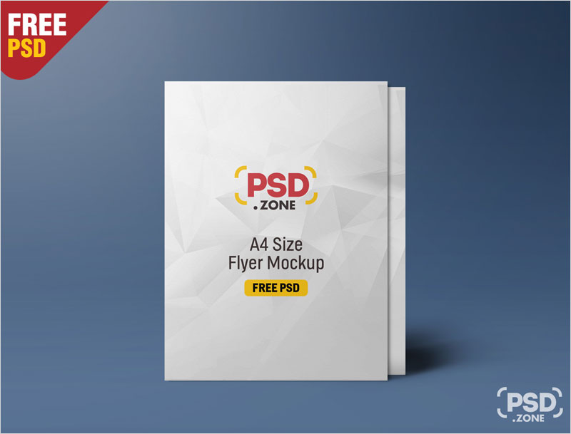 Standing-A4-Size-Flyer-Mockup-PSD