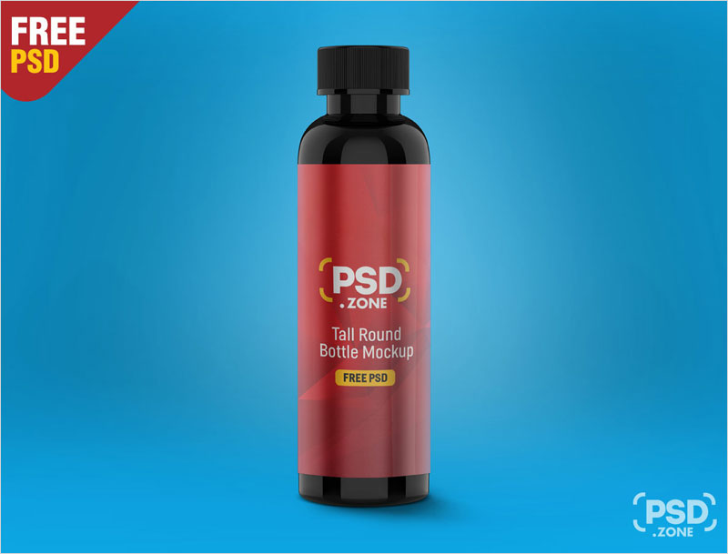 Tall-Round-Bottle-Mockup-PSD