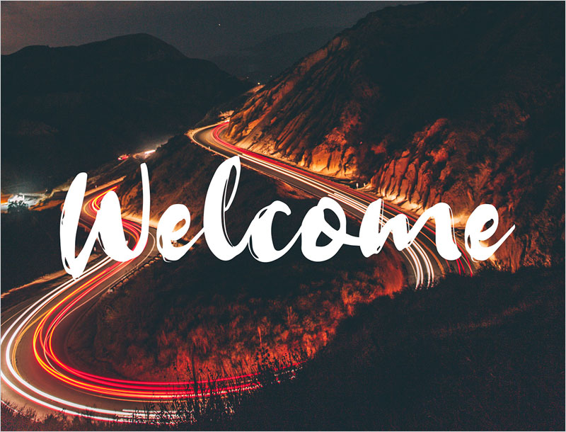 Welcome---free-handlettering-brush-typeface