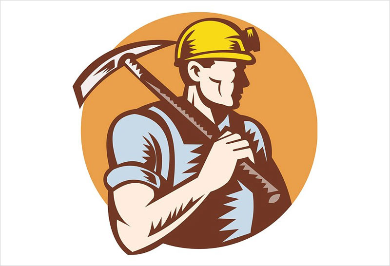coal-miner-at-work-with-pickaxe