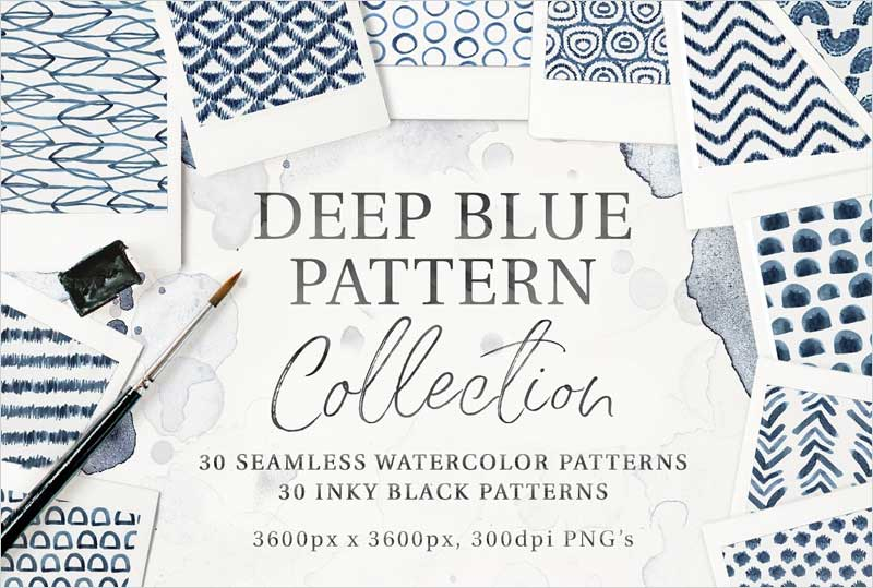 30-Seamless-Watercolor-Patterns