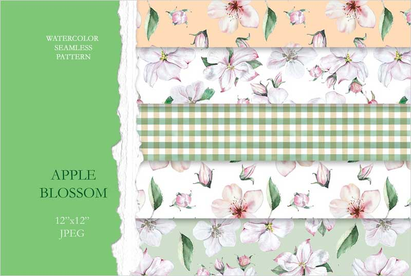 Apple-Blossom-Seamless-Pattern