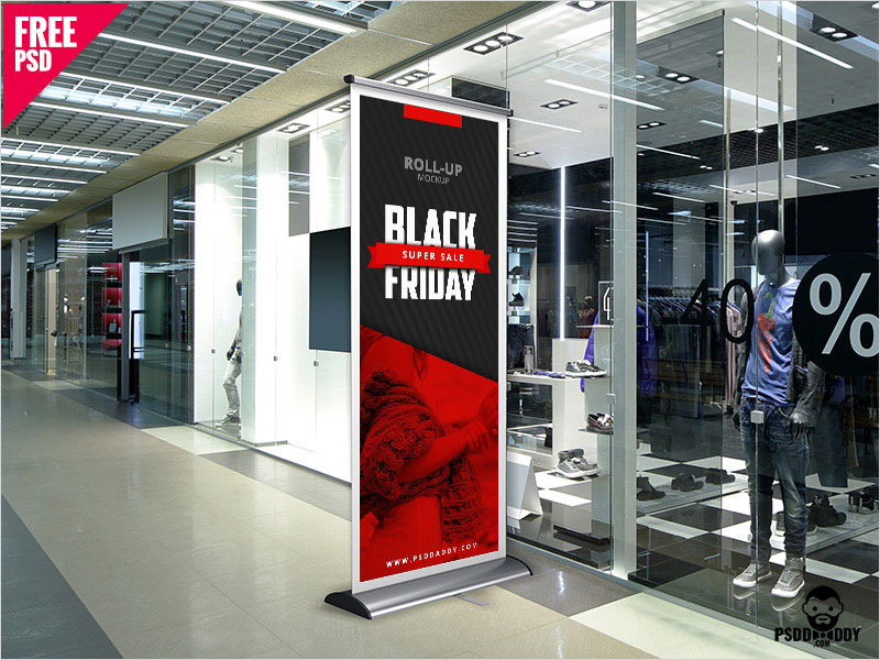 Black-Friday-Roll-Up-Banner-Mockup-Free-PSD