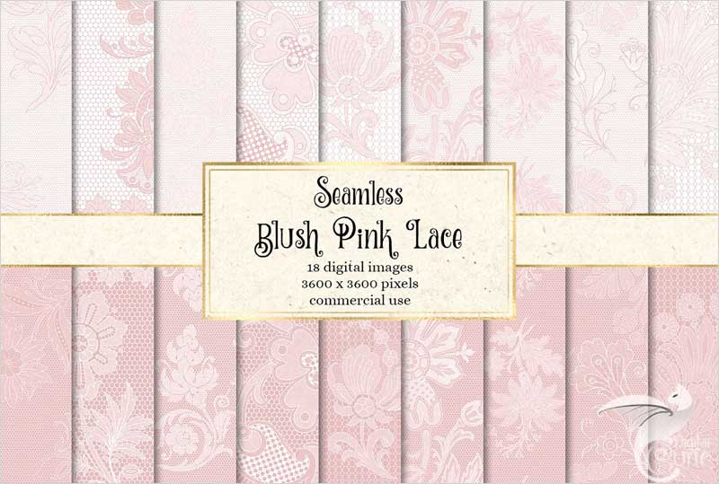 Blush-Lace-Digital-Paper