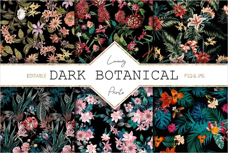 Dark-Botanical