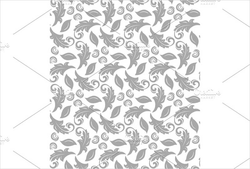 Floral-Fine-Seamless-Vector-Silver