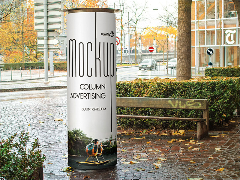 Free-Column-Advertising-PSD-MockUp-in-4k