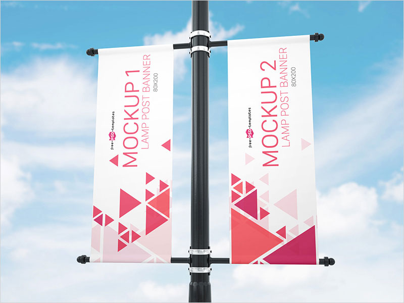Free-Lamp-Post-Banner-Mock-up-in-PSD