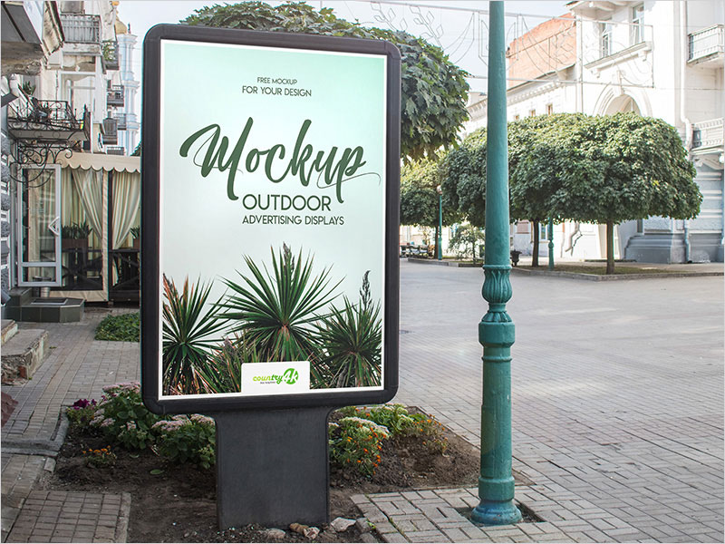 Free-Outdoor-Advertising-Displays-PSD-MockUp