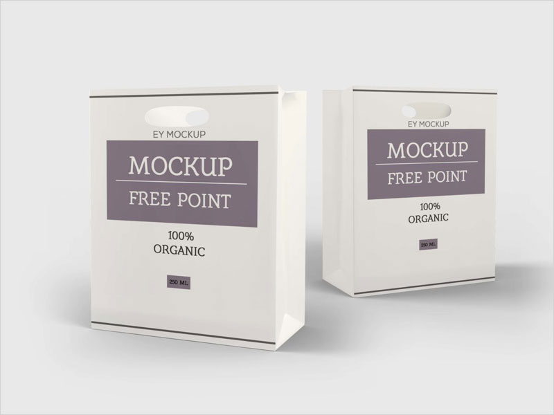 Free-Paper-Cut-Shopping-Bag-Mockup