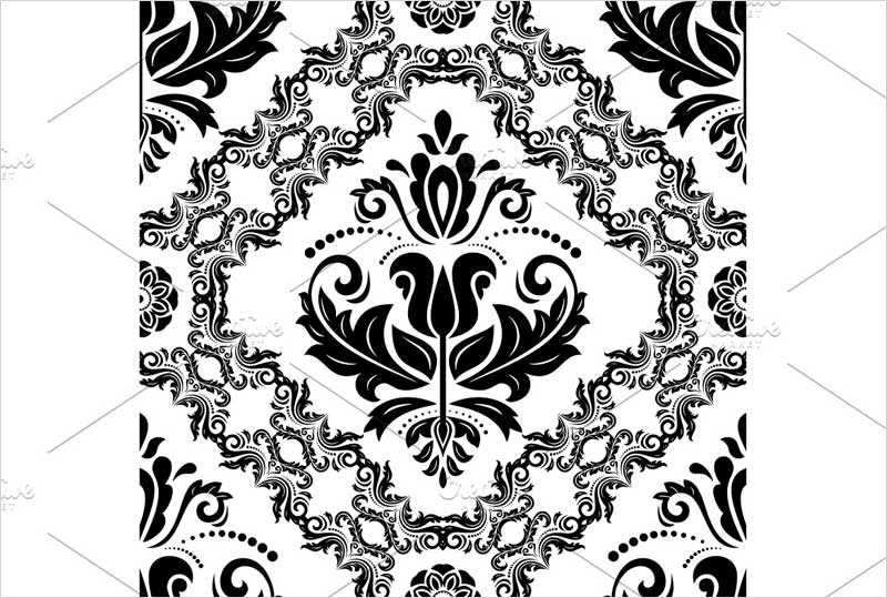Orient-Seamless-Vector-Black