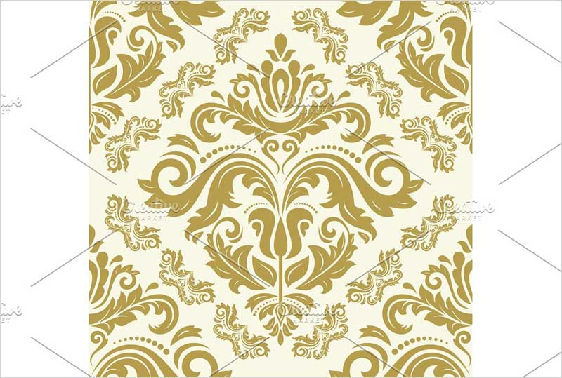 Orient-Seamless-Vector-Golden1