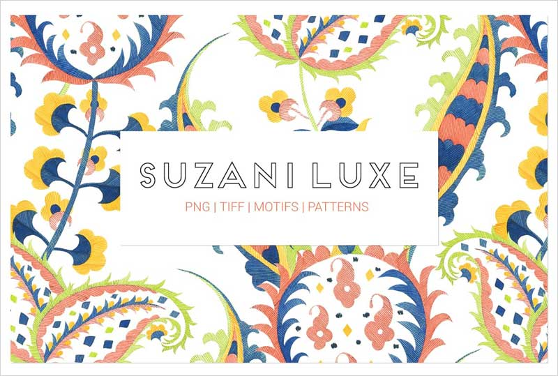 Suzani-Luxe,-Exquisite-Hand-Painted