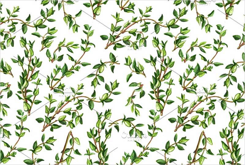 Thyme-Seamless-Pattern