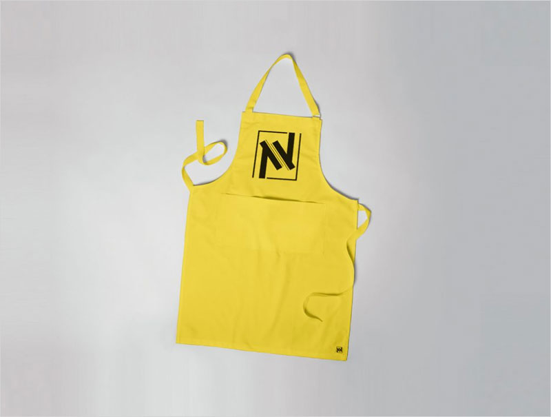 Apron-with-Branding-Mockup