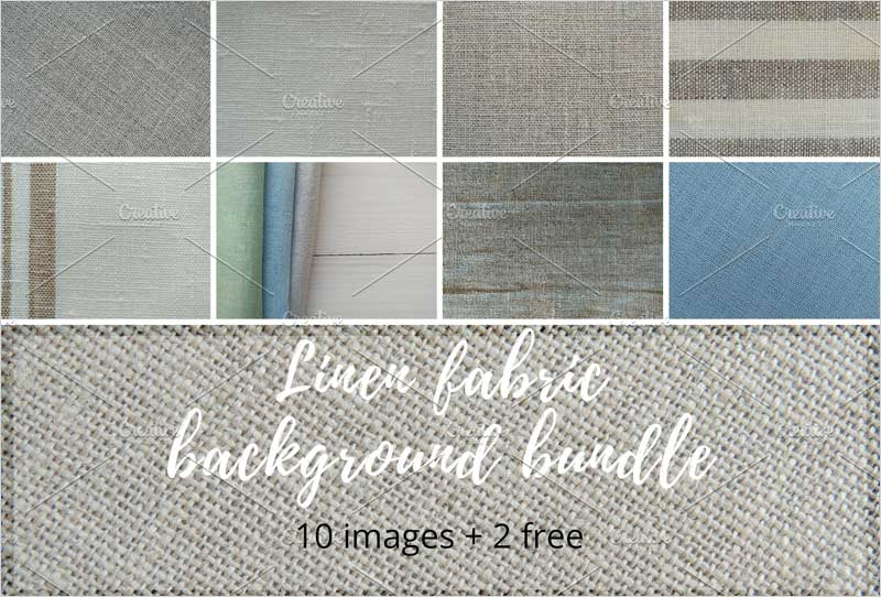 Linen-fabric-background-bundle