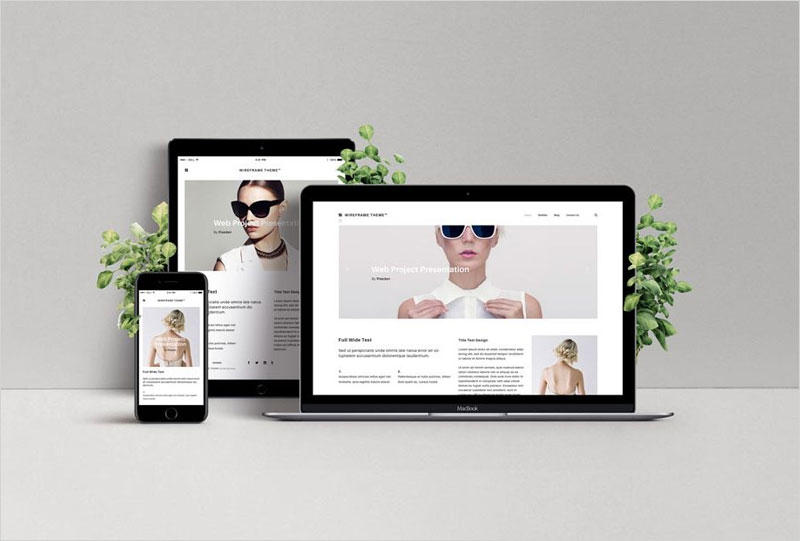 Responsive-Web-Design-Showcase-Mockup