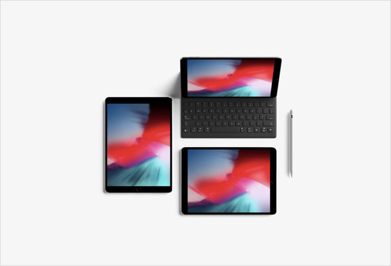 iPad-Pro-Top-View-Free-Mockup