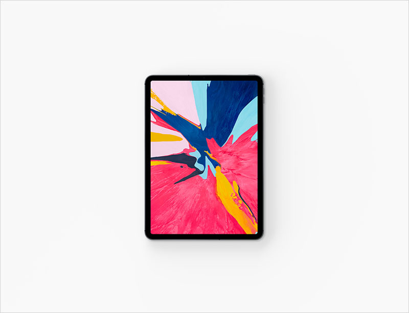 iPad-Pro-Top-View-Mockup