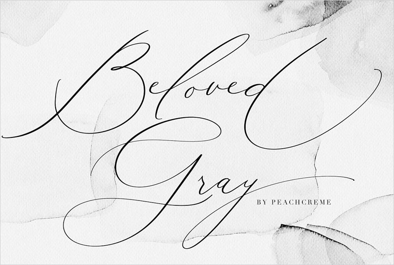 Beloved-Gray--Fine-Art-Font