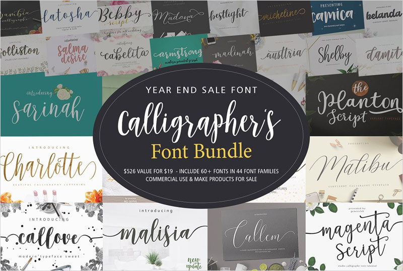 Calligrapher's-Font-Bundle-(98%Off)