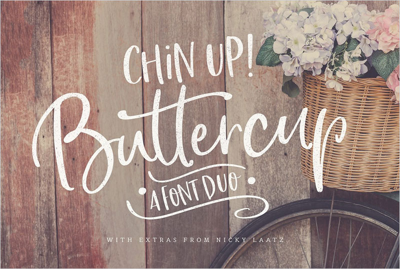 Chin-Up-Buttercup!-Font-Duo-&-Extras
