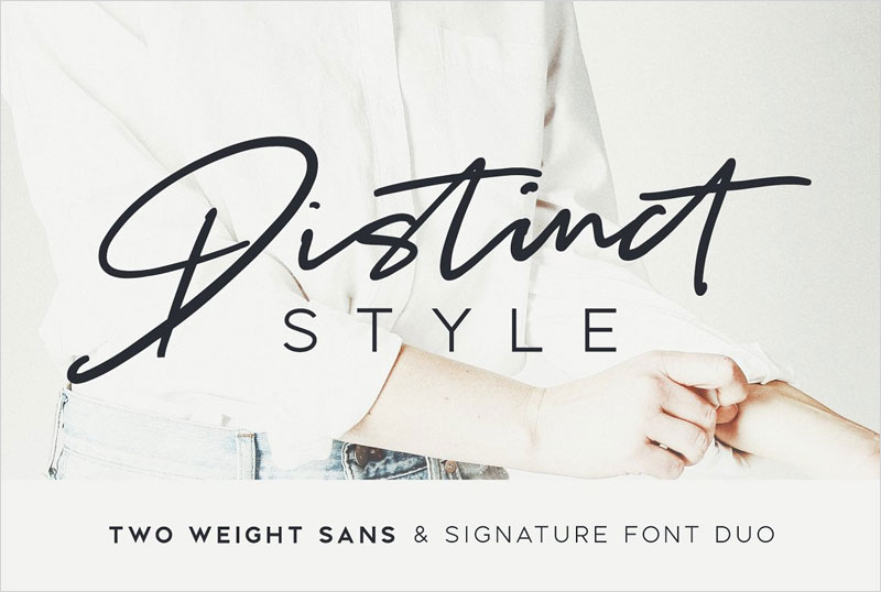 Distinct-Style-Font-Duo
