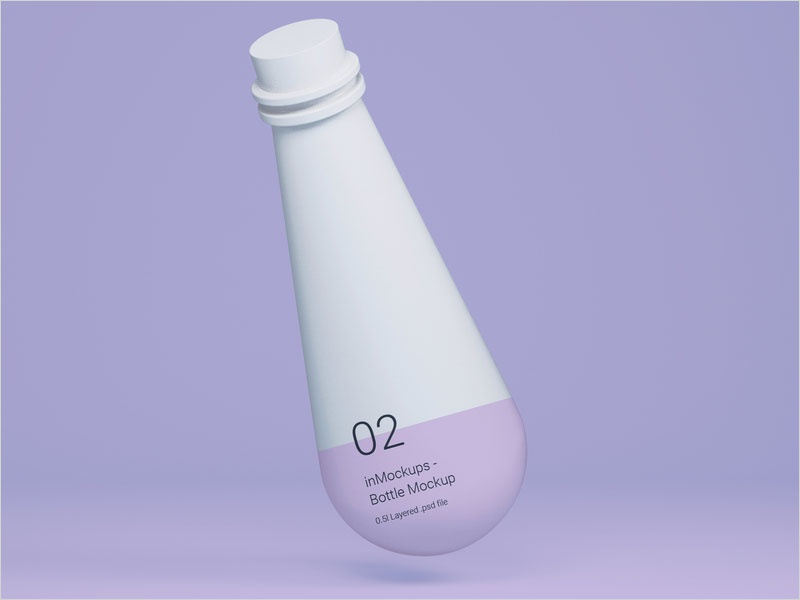 Floating-White-Bottle-Mockup---Free-Photoshop-Mockup