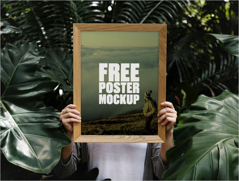Free-Forest-Poster-Mockup