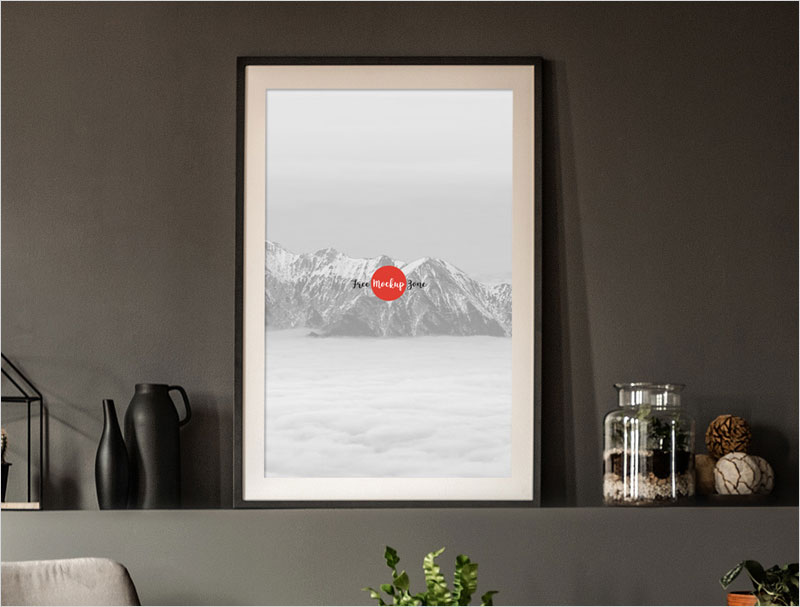 Free-Office-Interior-Frame-Poster-Mockup-PSD