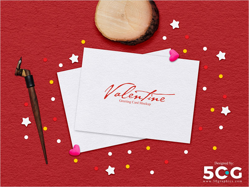 Free-Valentine-Greeting-Card-Mockup