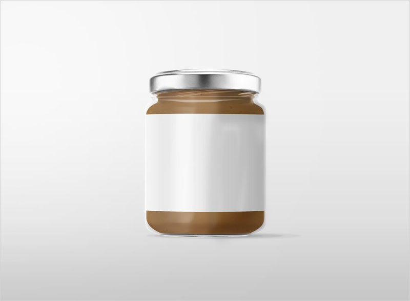 Glass-Jar-with-Metal-Lid-Mockup