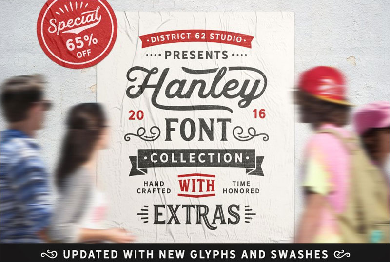 Hanley-Font-Collection