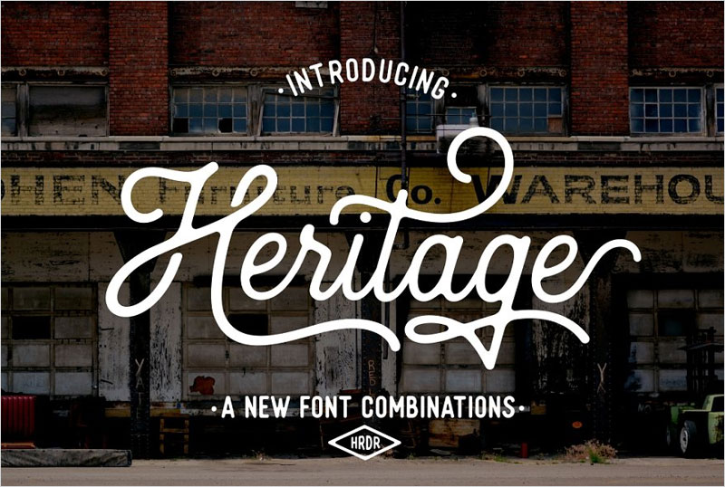 Heritage-Font-Combinations