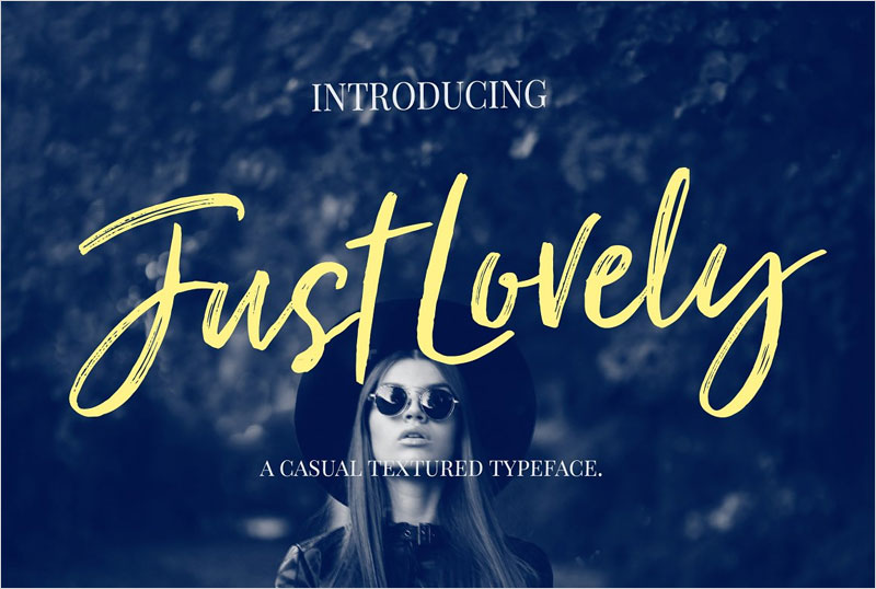 Just-Lovely-Font-&-Extras