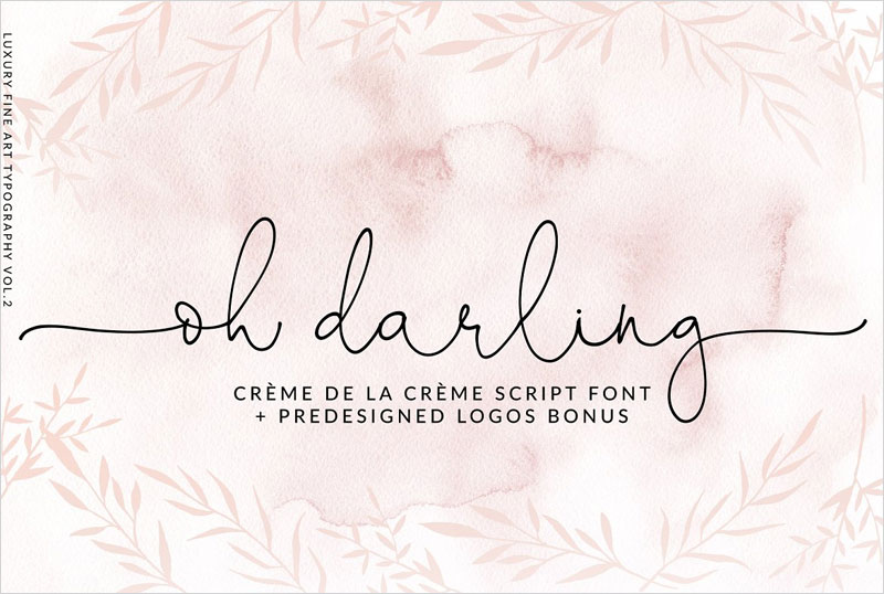 Oh-Darling--Ethereal-Script-Font