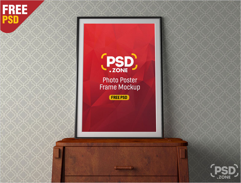 PSD-Photo-Poster-Frame-Mockup