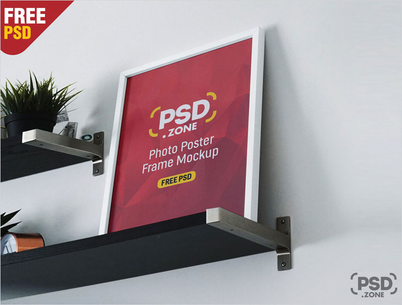 Photo-Frames-on-Shelf-Mockup-PSD