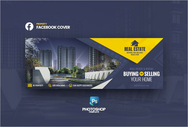 Real-Estate-FB-Cover-Template